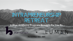 Blue Startups – Intrapreneurship Retreat!