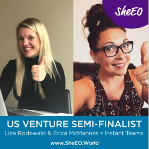 Instant Teams – Selected as SheEO top 25 Company!