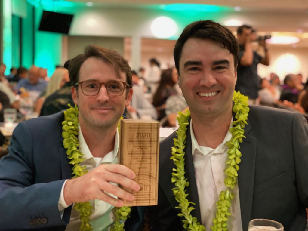 TurnoverBnB Wins HVCA Tech Entrepreneur of the Year Award