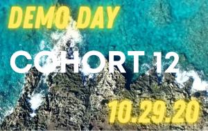 Register for Cohort 12 Demo Day! 10/29/2020