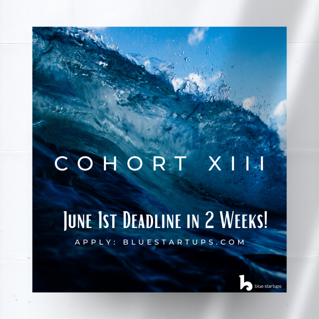 Newsletter Update: Apply for Cohort 13 by June 1st! Sagely Acquisition, Blue Planet Energy is Hiring