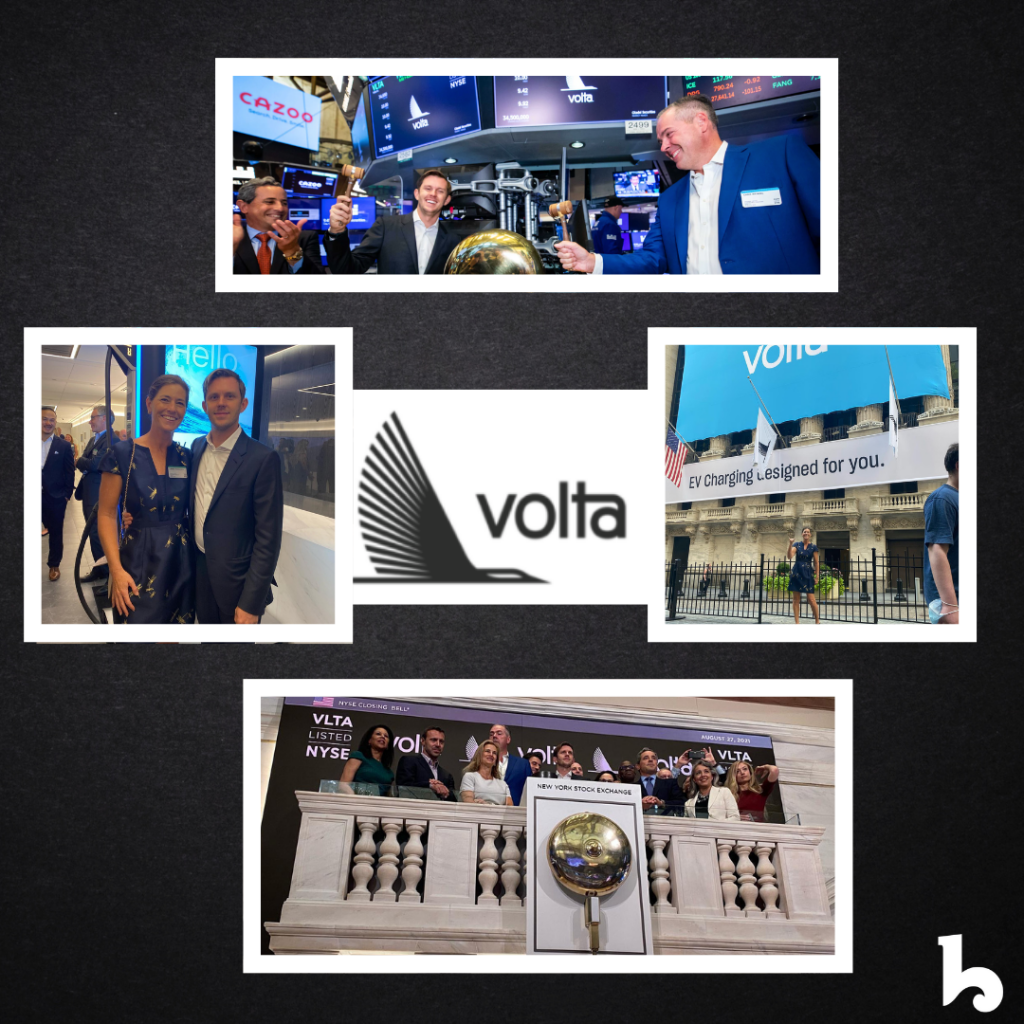Volta goes public! Officially VLTA on NYSE